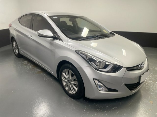 Used Hyundai Elantra MD3 Trophy Cardiff, 2014 Hyundai Elantra MD3 Trophy Silver 6 Speed Sports Automatic Sedan