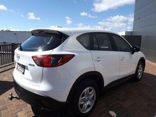 2015 Mazda CX-5 KE1032 Maxx SKYACTIV-Drive AWD Crystal White Pearl 6 Speed Sports Automatic Wagon