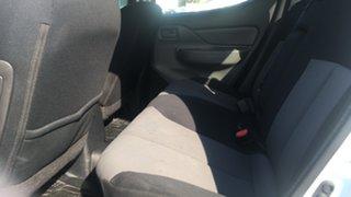 2016 Mitsubishi Triton MQ MY16 GLX Double Cab 4x2 White 6 Speed Manual Utility