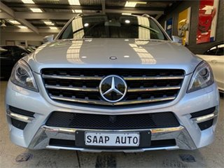 2013 Mercedes-Benz M-Class W166 ML500 Silver Sports Automatic Wagon.