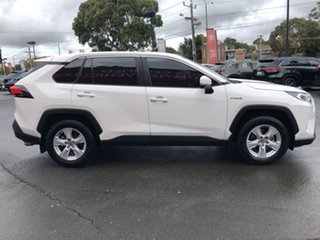 2019 Toyota RAV4 Axah52R GX 2WD Glacier White 6 Speed Constant Variable Wagon Hybrid.