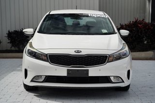 2016 Kia Cerato YD MY16 S White 6 Speed Sports Automatic Hatchback.