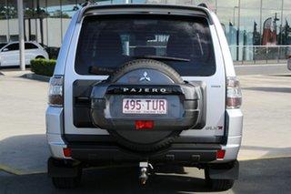 2013 Mitsubishi Pajero NW MY14 GLX-R Silver 5 Speed Sports Automatic Wagon