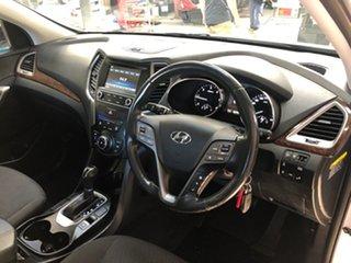 2018 Hyundai Santa Fe DM5 MY18 Active CRDi (4x4) White 6 Speed Automatic Wagon.