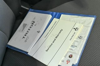 2018 Mitsubishi Triton MQ MY18 GLX White 5 Speed Sports Automatic Cab Chassis