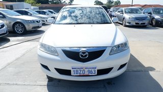 2005 Mazda 6 GG1032 Classic White 5 Speed Sports Automatic Sedan.