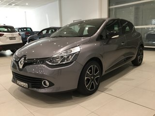2015 Renault Clio IV B98 Expression EDC Grey/x98 6 Speed Sports Automatic Dual Clutch Hatchback