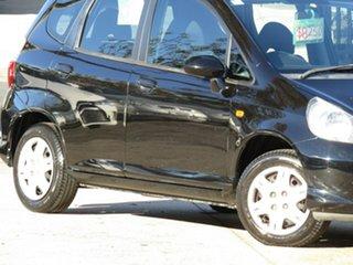 2007 Honda Jazz GD GLi Absolute Black 1 Speed Constant Variable Hatchback.