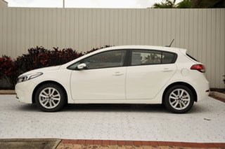 2016 Kia Cerato YD MY17 S Premium White 6 Speed Sports Automatic Hatchback