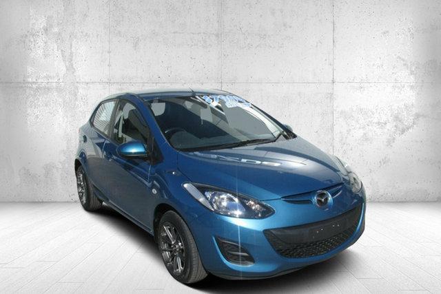 Used Mazda 2 DE10Y2 MY12 Neo Bendigo, 2012 Mazda 2 DE10Y2 MY12 Neo Blue 5 Speed Manual Hatchback