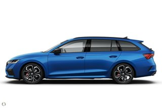 2021 Skoda Octavia NX MY21 RS DSG Blue 7 Speed Sports Automatic Dual Clutch Wagon