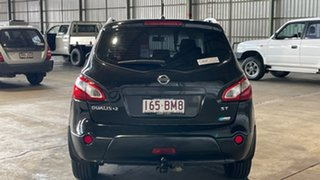 2011 Nissan Dualis J10 Series II MY2010 +2 Hatch X-tronic ST Black 6 Speed Constant Variable.