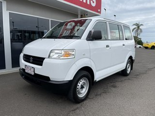 2009 Suzuki APV White 5 Speed Manual Van