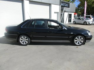2005 Ford Fairlane BF Ghia Black 6 Speed Sports Automatic Sedan.