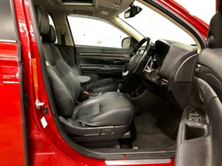 2015 Mitsubishi Outlander ZK MY16 Exceed 4WD Red 6 Speed Constant Variable Wagon