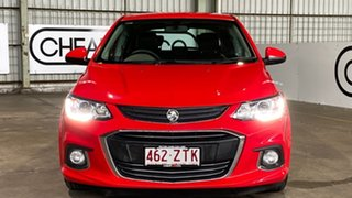 2017 Holden Barina TM MY17 LS Red 6 Speed Automatic Hatchback