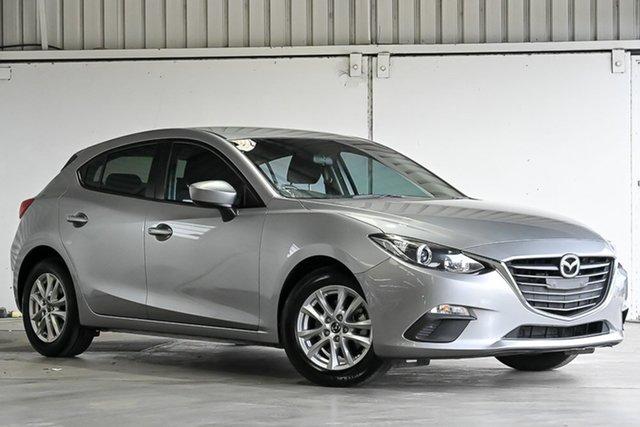 Used Mazda 3 BM5478 Neo SKYACTIV-Drive Laverton North, 2016 Mazda 3 BM5478 Neo SKYACTIV-Drive Silver 6 Speed Sports Automatic Hatchback