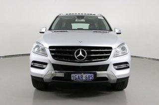 2015 Mercedes-Benz ML250 CDI BlueTEC 166 MY14 4x4 Silver 7 Speed Automatic Wagon.