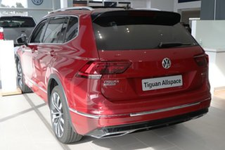 2020 Volkswagen Tiguan 5N MY21 162TSI Highline DSG 4MOTION Allspace Red 7 Speed.
