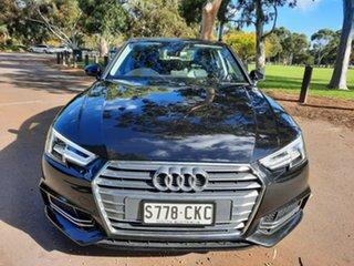 2017 Audi A4 B9 8W MY17 Sport S Tronic Quattro Black 7 Speed Sports Automatic Dual Clutch Sedan.
