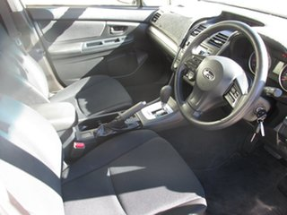 2014 Subaru Impreza G4 MY14 2.0i Lineartronic AWD White 6 Speed Constant Variable Hatchback