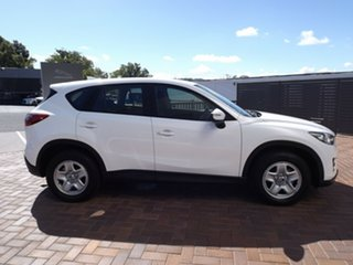 2015 Mazda CX-5 KE1032 Maxx SKYACTIV-Drive AWD Crystal White Pearl 6 Speed Sports Automatic Wagon.