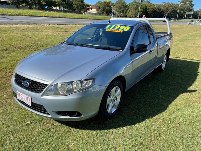 Used Ford Falcon FG Ute Super Cab Clontarf, 2008 Ford Falcon FG Ute Super Cab Blue 5 Speed Sports Automatic Utility