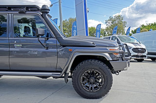 2019 Toyota Landcruiser VDJ79R GXL Double Cab Magnetic Grey 5 Speed Manual Cab Chassis