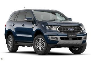 2021 Ford Everest UA II 2021.25MY Trend Blue 6 Speed Sports Automatic SUV