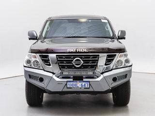 2019 Nissan Patrol Y62 Series 4 MY18 TI (4x4) Grey 7 Speed Automatic Wagon.