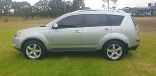 2008 Mitsubishi Outlander ZG MY09 Platinum Edition Silver 6 Speed Constant Variable Wagon