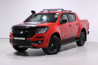 2018 Holden Colorado RG MY18 Z71 (4x4) Red 6 Speed Automatic Crew Cab Pickup.