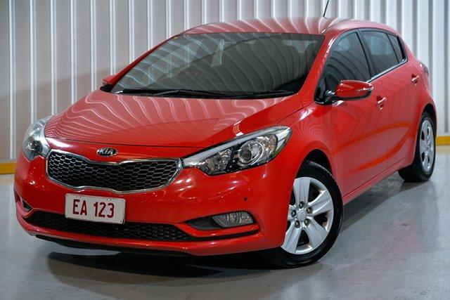 Used Kia Cerato YD MY16 S Hendra, 2015 Kia Cerato YD MY16 S Red 6 Speed Sports Automatic Hatchback