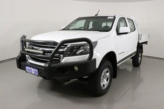 2017 Holden Colorado RG MY17 LS (4x4) White 6 Speed Automatic Crew Cab Chassis.