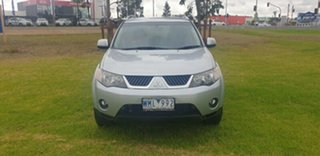 2008 Mitsubishi Outlander ZG MY09 Platinum Edition Silver 6 Speed Constant Variable Wagon.