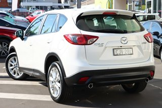 2012 Mazda CX-5 KE1021 Grand Touring SKYACTIV-Drive AWD Crystal White Pearl 6 Speed Sports Automatic.