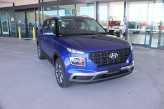 2021 Hyundai Venue QX.V3 MY21 Active Intense Blue 6 Speed Automatic Wagon