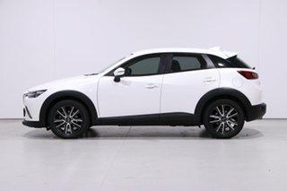 2015 Mazda CX-3 DK S Touring (AWD) White 6 Speed Automatic Wagon