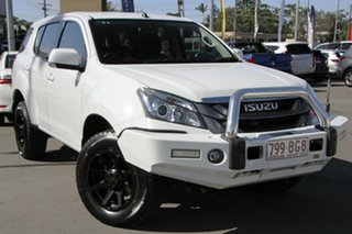 2016 Isuzu MU-X MY15.5 LS-M Rev-Tronic White 5 Speed Sports Automatic Wagon.