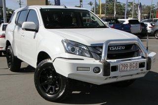 2016 Isuzu MU-X MY15.5 LS-M Rev-Tronic White 5 Speed Sports Automatic Wagon.