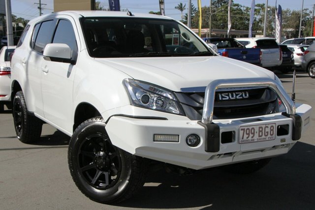 Used Isuzu MU-X MY15.5 LS-M Rev-Tronic Aspley, 2016 Isuzu MU-X MY15.5 LS-M Rev-Tronic White 5 Speed Sports Automatic Wagon