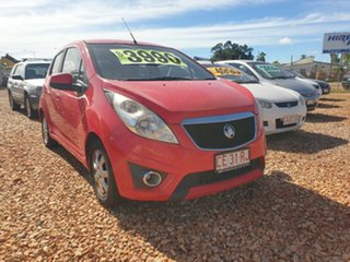 2011 Holden Barina Spark Red 5 Speed Manual Hatchback.