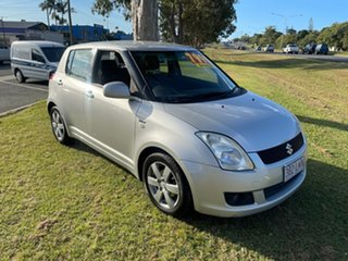 2008 Suzuki Swift RS415 RE1 Silver 4 Speed Automatic Hatchback
