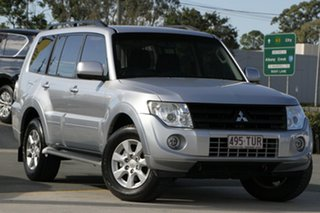 2013 Mitsubishi Pajero NW MY14 GLX-R Silver 5 Speed Sports Automatic Wagon.