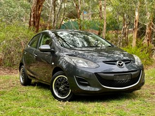 2014 Mazda 2 DE10Y2 MY14 Neo Sport Meteor Grey 5 Speed Manual Hatchback.