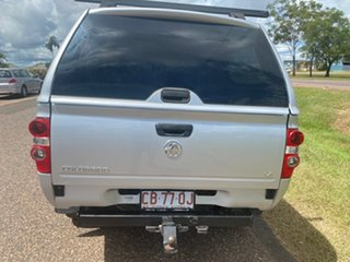 2010 Holden Colorado RC MY11 LX Crew Cab Silver 5 Speed Manual Utility