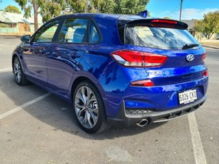 2020 Hyundai i30 PD.V4 MY21 N Line D-CT Intense Blue 7 Speed Sports Automatic Dual Clutch Hatchback