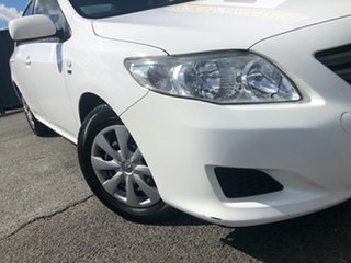 2009 Toyota Corolla ZRE152R Ascent White 4 Speed Automatic Sedan.