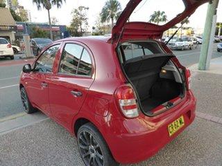 2012 Nissan Micra K13 ST-L Red 5 Speed Manual Hatchback