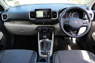 2020 Hyundai Venue QX.V3 MY21 Elite Typhoon Silver 6 Speed Automatic Wagon